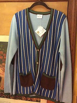 Hanna Andersson Cardigan Nwt Sz 160 Teen Vintage Preppy Grandpa Elbow Patches