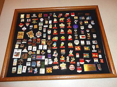 HUGE Walt Disney Coca Cola and Olympic Sponsor Pin Collection RARE ONES
