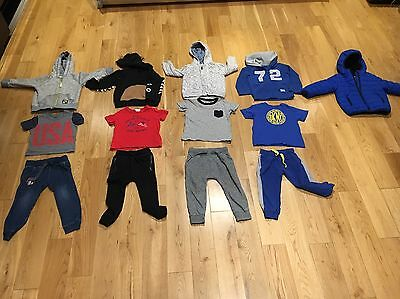 Large Bundle (44) Of Boys Clothes 18 Months to 3 Year Old Including Designers