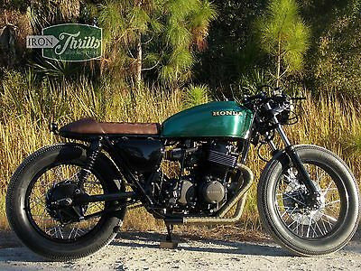 1977 Custom Built Motorcycles CB  1977 CB750 Cafe Racer by Iron Thrills Motorcycle Co.