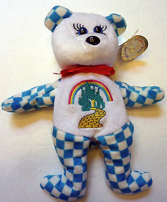 Five Retired Wizard of Oz Celebrity Bears with Tags
