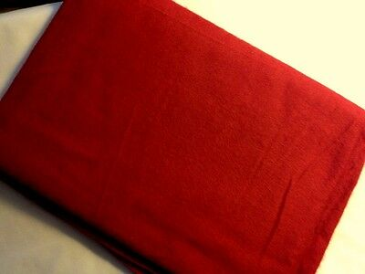 """True Vintage Traditional Red  Flannel Fabric, good for X-mas Home Decor, 2 y 16"""""""