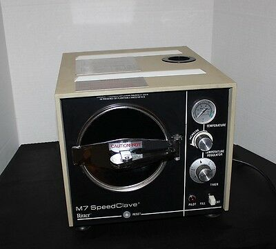 MIDMARK M7-001 RITTER M7 SPEEDCLAVE DENTAL STEAM STERILIZER w/2 Trays