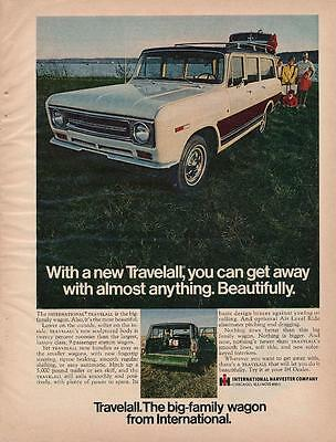 Vintage Magazine Ad - 1969 - International Travelall  (#2)