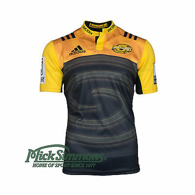 Hurricanes 2017 Home Rugby Jersey by adidas