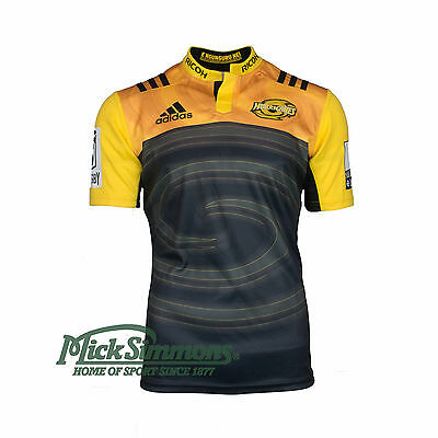NEW Hurricanes 2017 Home Rugby Jersey by adidas
