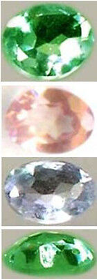 19thC Antique Handcrafted Genuine Natural Russian Color-Change Alexandrite