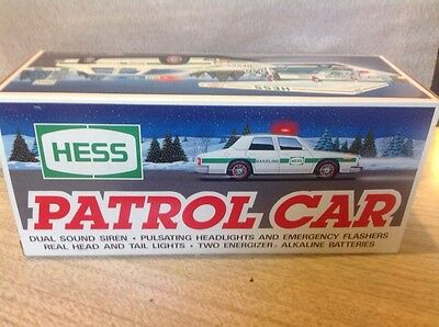 Hess Gasoline 1993 Patrol Car. Nib   Batteries Not Included