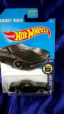 Hot Wheels Knight Rider K.I.T.T. 2016 HW Screen Time Famous TV Series Car New