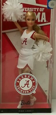 "Barbie Collector Alabama Crimson Tide ""roll Tide"""