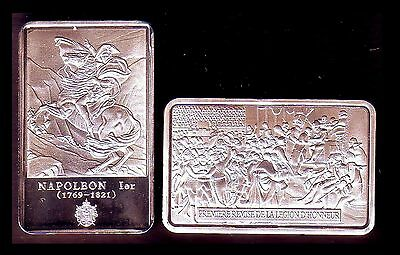 ● Silver Plated Bar ● France ● Napoleon : The First Legion D'honneur ●●