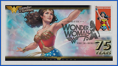 Wonder Woman...  DC Comics... First Day Cover 2016 #005