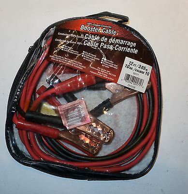 Booster Cable 12 ft. Jumper Cables.