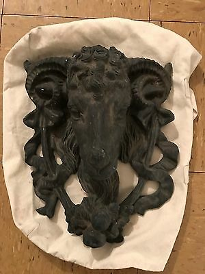 Antique Ram's Head Walll Decor/Door Knocker