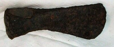 Ancient Viking Iron Axehead