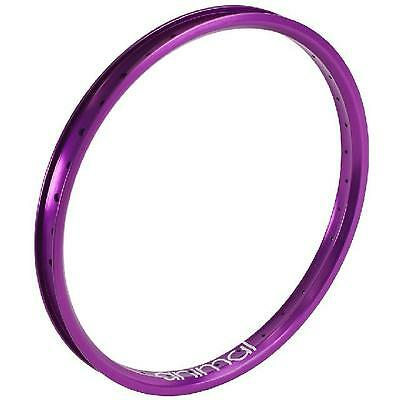 "Animal RS Rim 20"" BMX (Purple) 7005 Aluminum"