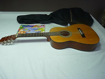 Guitar with Zip cover and Music book