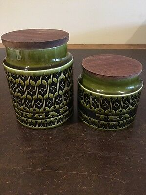 Vintage Hornsea Canisters