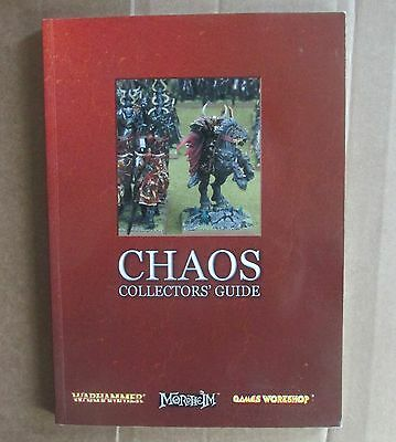 Chaos collectors guide warhammer fantasy book games workshop citadel