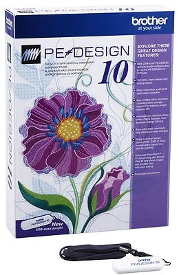 Brother PE Design 10 Embroidery Software - The Cheapest Way Of Getting It