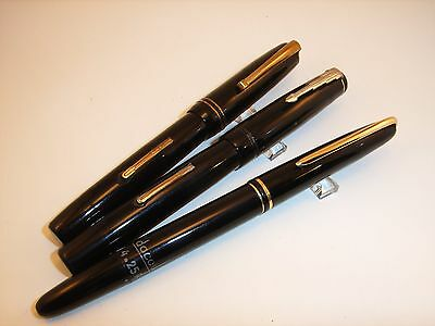 Lot 3 stylos plumes EDACOTO– lot 3 french fountains pens