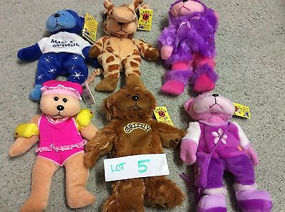 Beanie Kids X 6. NEW.  Never Played with. ( Lot  5 )