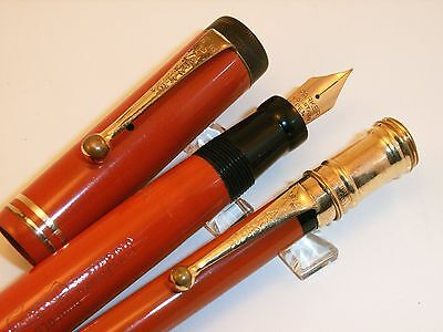 Parure stylo plume et porte-mine PARKER DUOFOLD junior - fountain pen + pencil