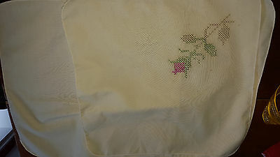 embroidery to be completed - 4 place mats