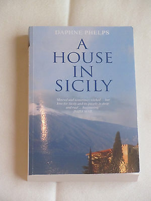 A HOUSE IN SICILY by Daphne Phelps Virago NEW Pbk