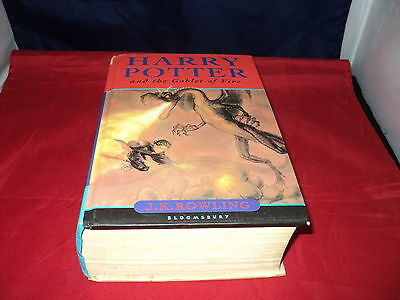 Harry Potter and the goblet of fire by J. K. Rowling Bloomsbury First Edition HB