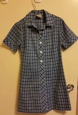 Mentone Girls Secondary College  Summer Dress Size 8