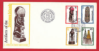 Solomon Islands 1978 - Artifacts set on FDC.