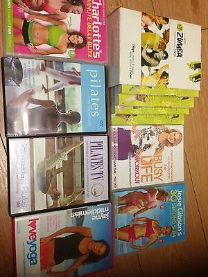 Fitness DVDs X 7