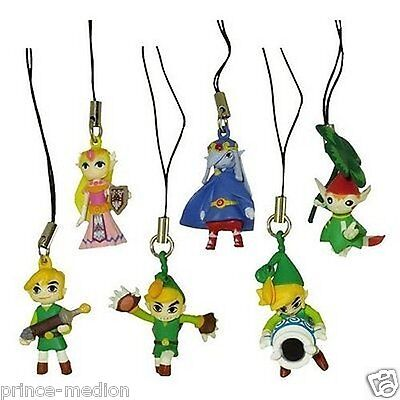 The Legend of Zelda The Minish Cap Gashapon Mascot Dangler Strap Figure Keychain