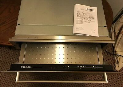 Miele ESW 5080-14  Built-in Warming Drawer 14cm Electronic Control