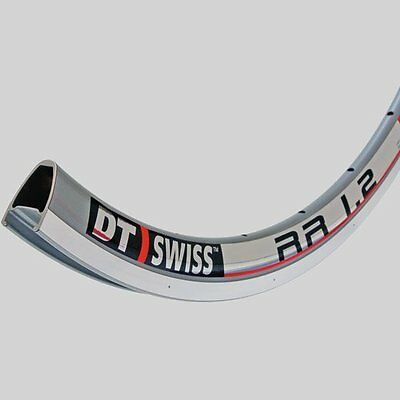 Set of DT Swiss RR1.2 Aero Section Road Rims - Silver 28 hole
