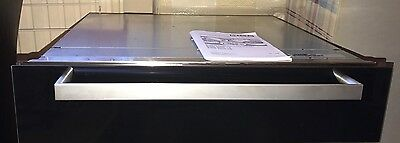 Miele ESW 5080-14  Black Glass Built-in Warming Drawer 14cm Electronic Control
