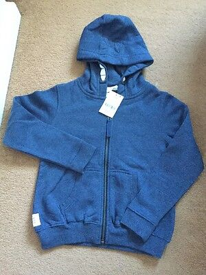 Next Girls Hoodie Jumper Bnwt Age 8 Years