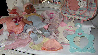 Baby Annabell Zapf Creation doll, clothes, accesories