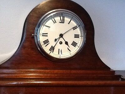 Large Nelson hat Mantle Clock