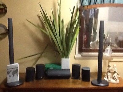 Jamo Home Theatre Speakers Plus Dali Sub Woofer Great Match