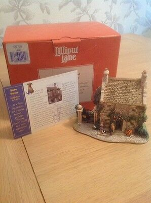 Sore Paws Lilliput Lane Cottage With Deeds