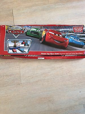 Disney Pixar The World Of Cars Piston Cup Race Game Light And Sound Effects
