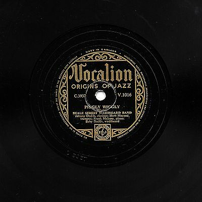 Beale Street Washboard Band 78 Piggly Wiggly / Forty & Tight  Vocalion V 1016 Ex