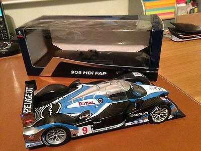 PEUGEOT 908 HDi FAB LE MANS 209 Norev Model Car SCALE 1/18