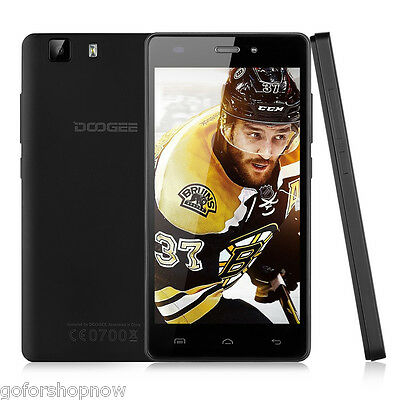 4G LTE 5.0¨ 16GB Android 5.1 Doble SIM 8MP Móvil Smartphone Libre DOOGEE X5 Pro