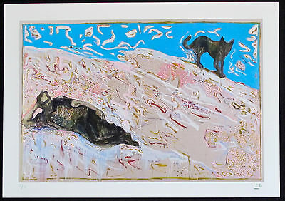 Billy Childish - V Rare Signed Limited Edition Charles Bukowski Print - 1 Of 31!