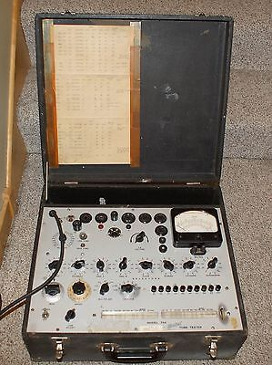 Working  Hickok 752 Tube Tester