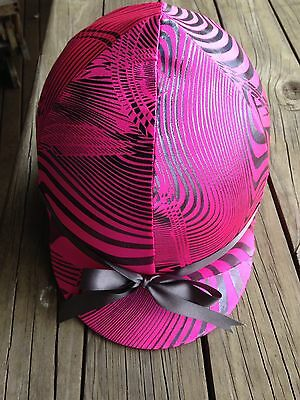 TC Custom Covers- Lycra horse helmet Covers, one size fits all. AUSTRALIAN MADE