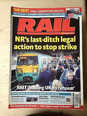 Back issue: Rail magazine: No 641: 2010-04: 7th to 20th April.